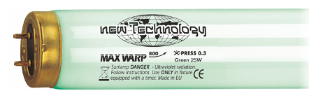 New Technology Max Warp 800 X-PRESS Plus 100 W Green