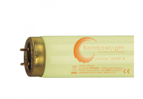 Solariumröhren Rainbow Light yellow 100W R